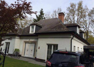 Ontmossen van daken - West-Vlaanderen